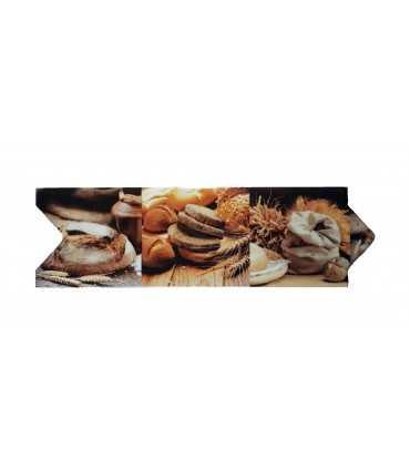 Cenefa trigo para cocina tipo Flecha Vitrosa 8x25 cm Alcesa - Ecart